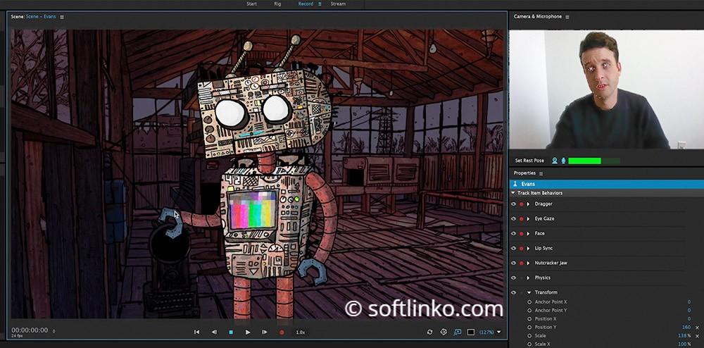 Adobe Character Animator CC 2018