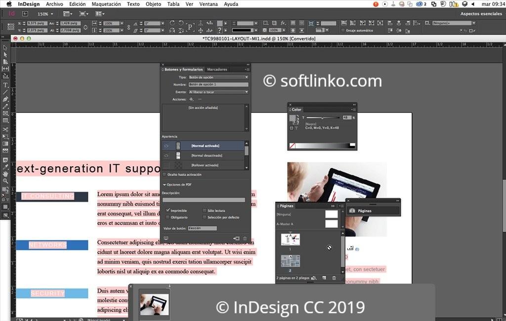 adobe indesign cc 2019 full version