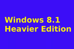 windows 8.1 heavier edition download