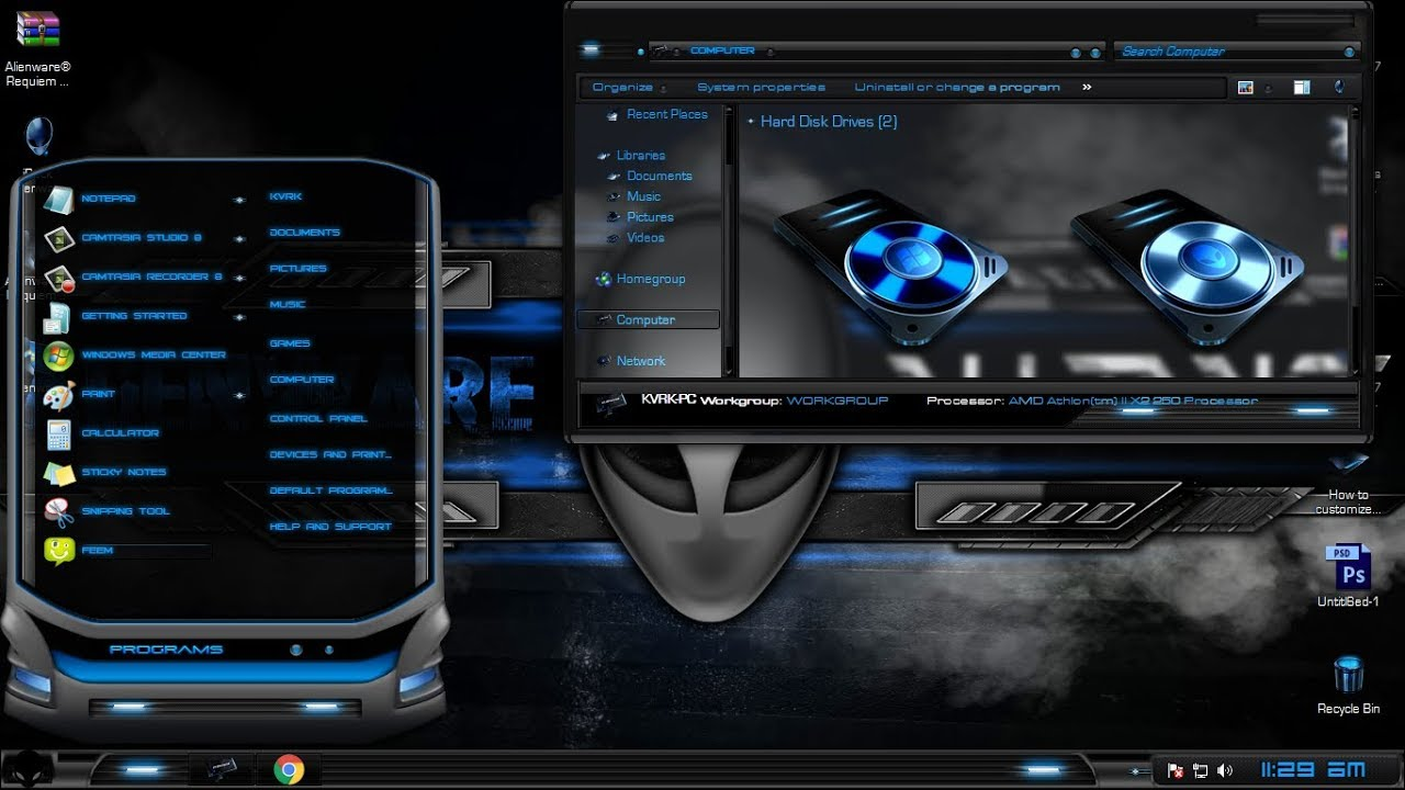 Windows 7 Alienware free download