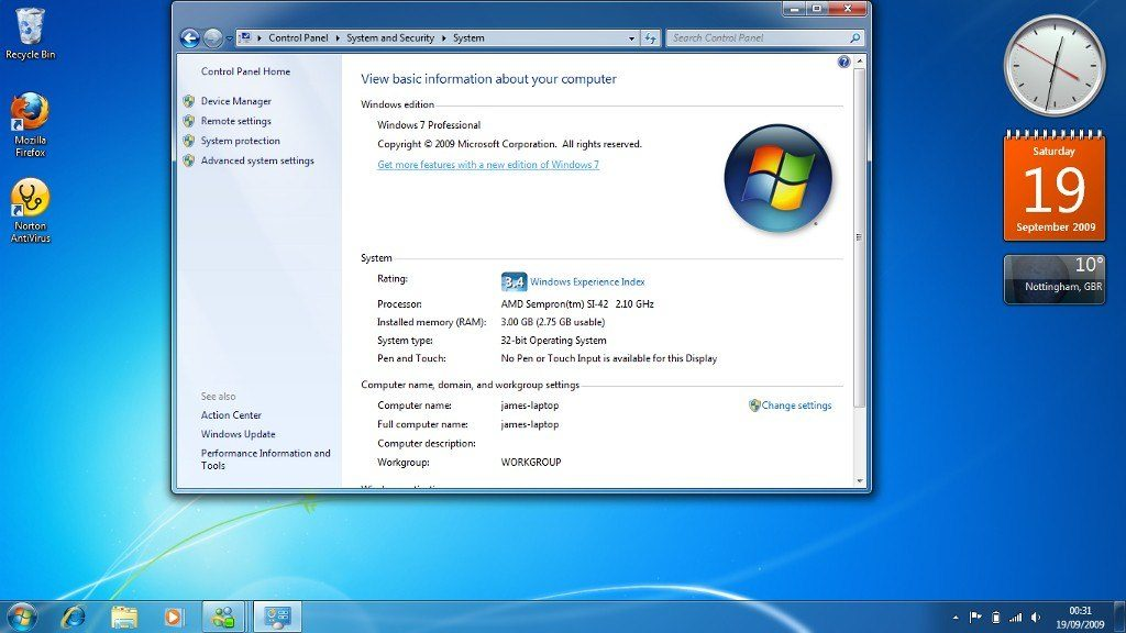 Windows 7 Ultimate 32 bit free download