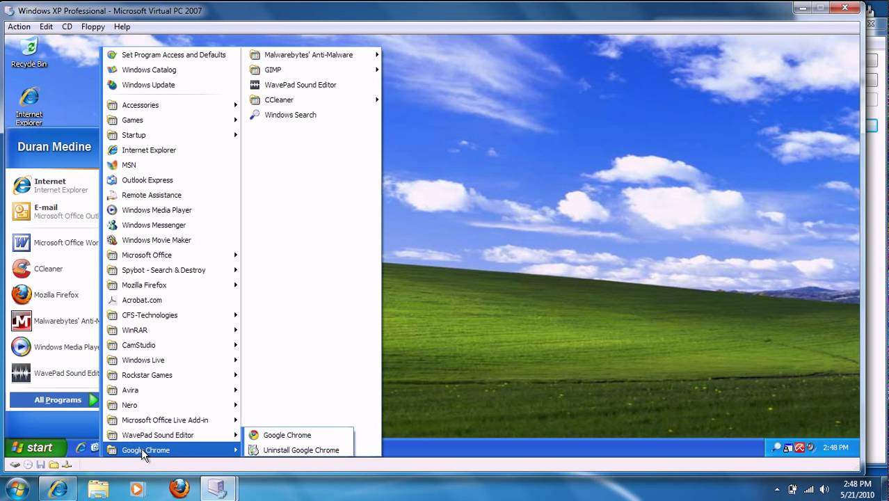 Windows XP Professional service pack 3 free download