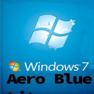download Windows 7 Aero Blue Lite Edition