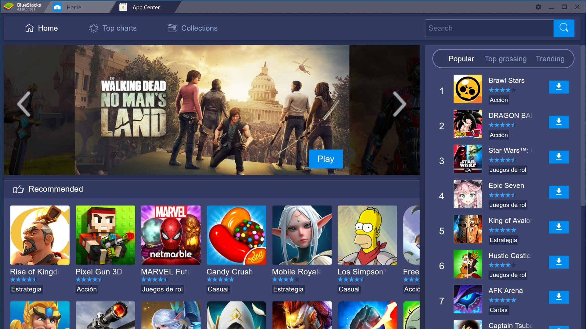 BlueStacks Portable free download