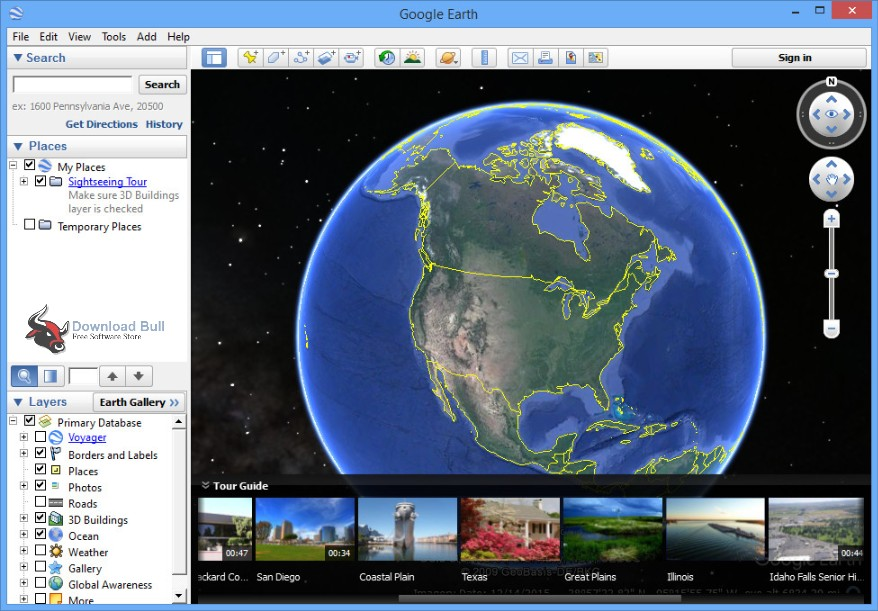 Google Earth Portable free download